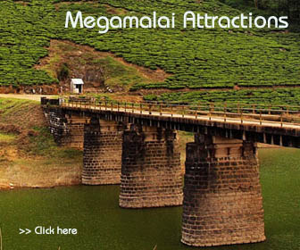 megamalai attractions